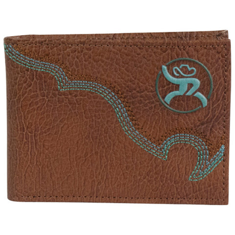 Hooey Tan and Turquoise Roughy Bifold