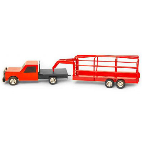 Little Buster Toys Red Ranch Trailer