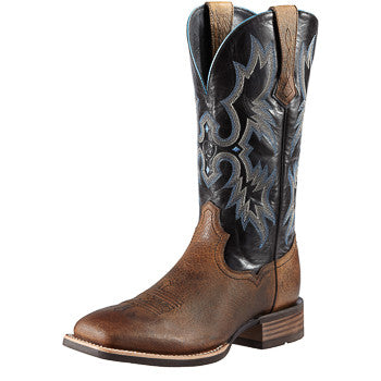 Ariat Men's Earth/Black Tombstone Square Toe