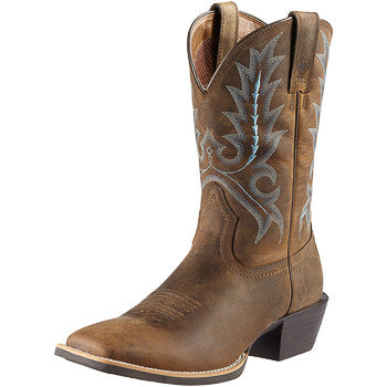 Ariat Men's Distressed Brown Sport Outfitter Boot