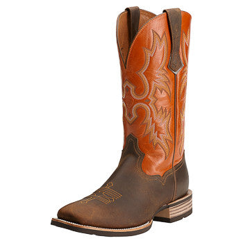 Ariat Men's Brown/Sunny Tombstone Square Toe