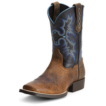 Ariat Kid's Earth Tombstone Square Toe
