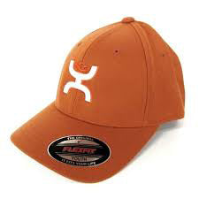 Hooey Orange and White Youth Cap