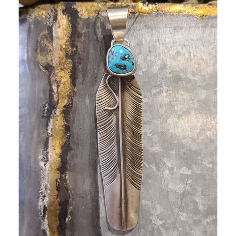 """ Begay Feather Pendant """