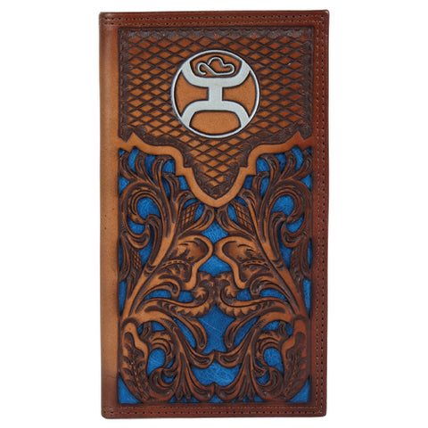 Hooey Tooled Navy Inlay