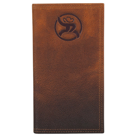 Hooey Brown Ombre Wallet