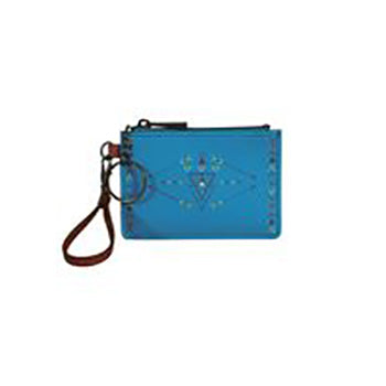 Turquoise with Arrows Mini ID Holder