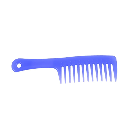 Pastel Purple Antibacterial Comb With Handle