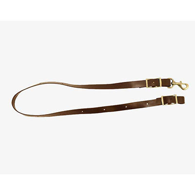 Brown Biothane Tie Down