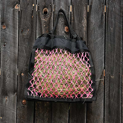 Black and Pink Ultimate Hay Net