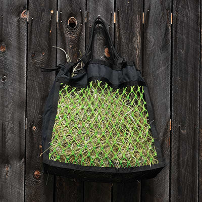 Black and Lime Green Ultimate Hay Net