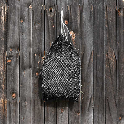 Black Slow Feeder Hay Net