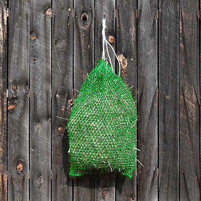 Kelly Green Slow Feeder Hay Net