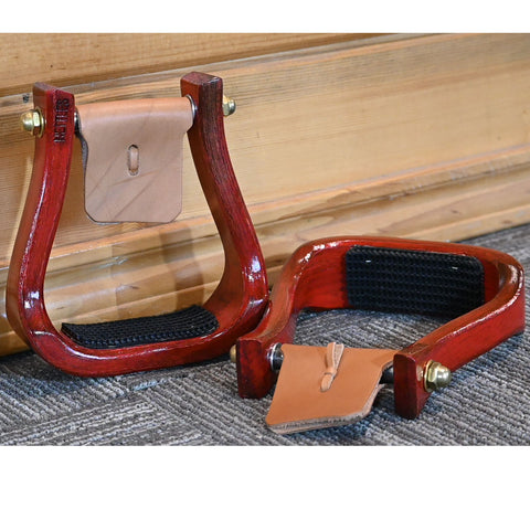 "Nettles 2"" Red Barrell Racing  Stirrups"