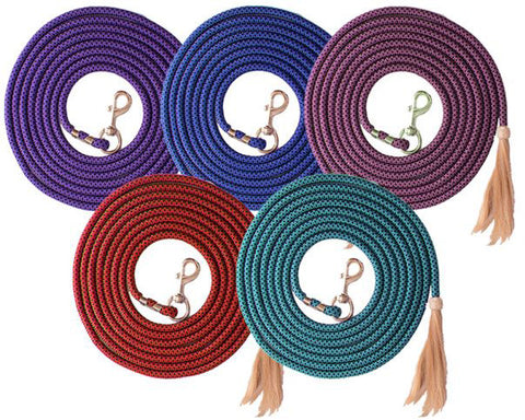 25' Braid Lunge Line/Horse Hair Tassel