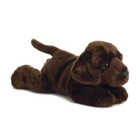 Chocolate Lab Stuffed Animal