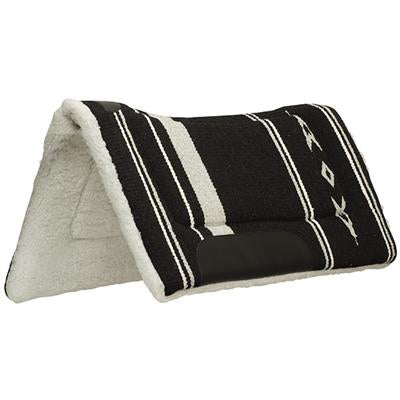 Weaver Black and Grey Fleece Lined Contour Pad