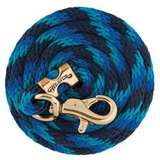 Weaver Leather Navy, Blue and Turquoise Lead Rope