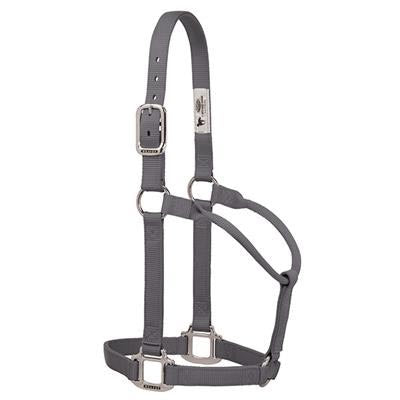 Large Graphite Nylon Halter