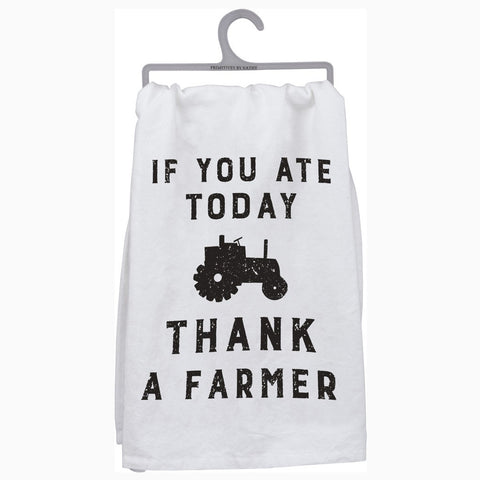 Thank a Farmer Kitchen Hand Towel