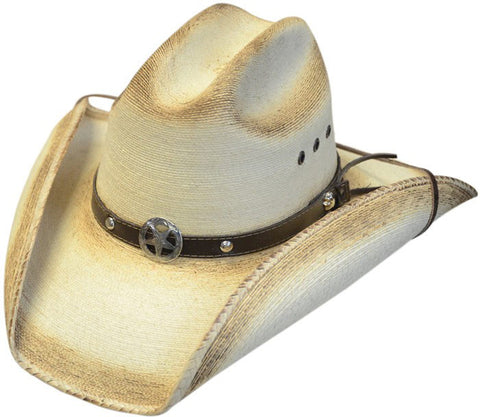 Fine Sahuayo Toasted Palm Cattleman Hat