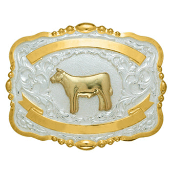 Small Trophy Steer Buckle