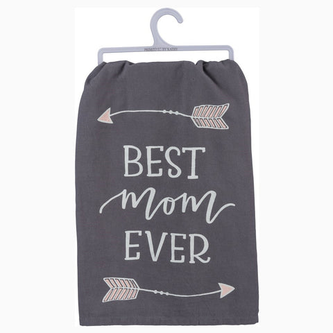 Best Mom Ever Kitchen Dish Towel