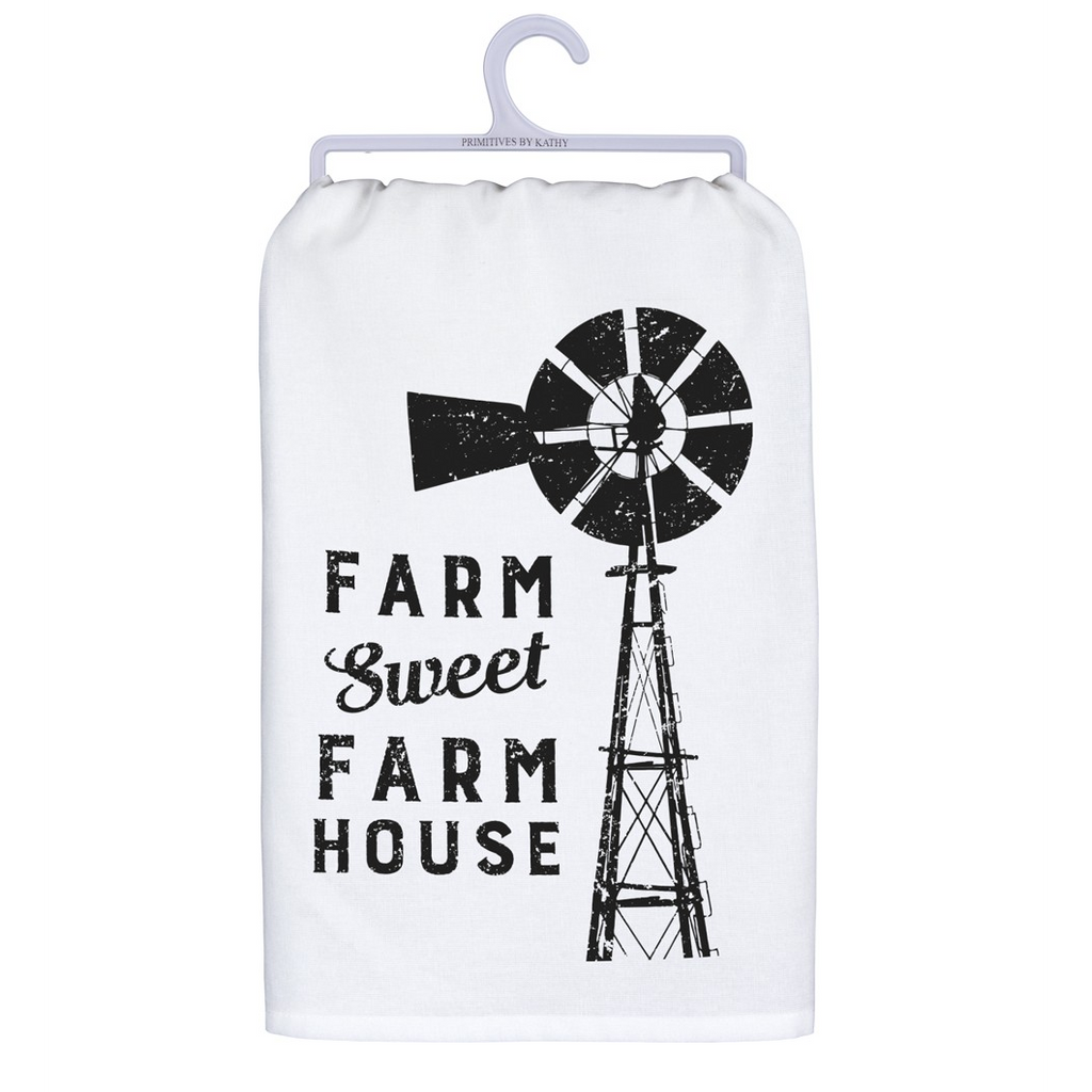 """Farm Sweet FarmHouse"" Hand/Dish Towel"