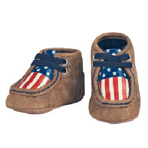 DBL Barrel Brown Lincoln Baby Bucker Shoe