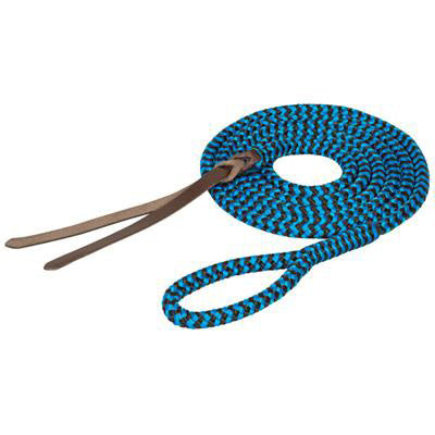 Weaver Leather Blue and Black 9' Nylon Lead Rope