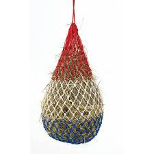 Red, White and Blue Hay Net