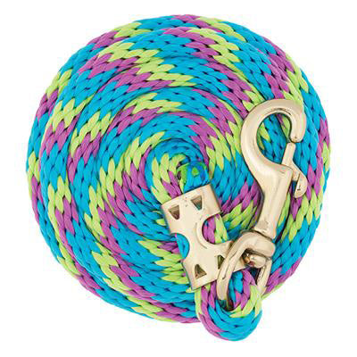 Weaver Leather Lime, Blue, and Purple 8' Lead Rope