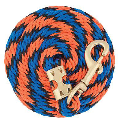Weaver Leather Orange, Blue, and Black 8' Lead Rope