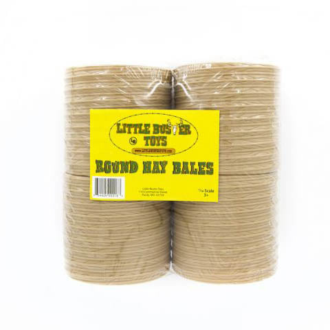 Little Buster Toys 4Piece Round Bale Set