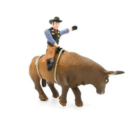 Little Buster Toys Bucking Bull and Rider