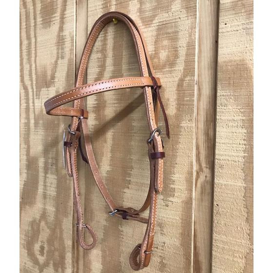 HR Natural Plain Quick Change Browband