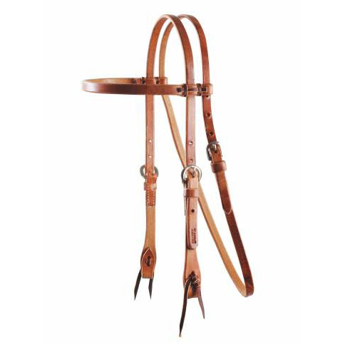 Professional's Choice Cowboy Laced Browband Headstall