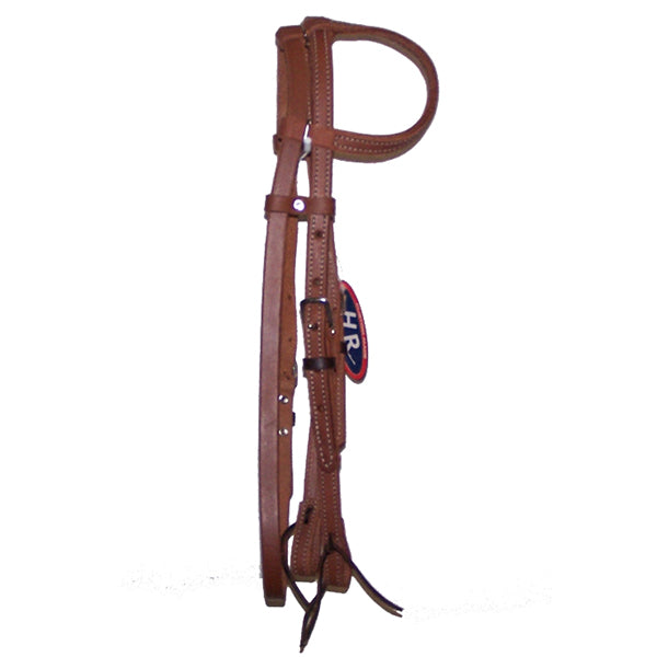 One Ear Headstall With Throat Latch