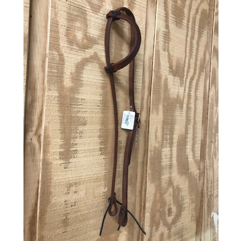 HR Oiled Slide One Ear Headstall