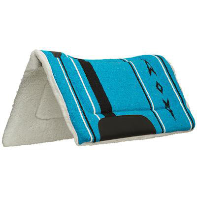 Weaver Leather Blue Contour Fleece Pad