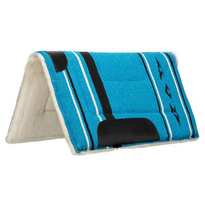 Weaver Leather Blue Fleece Pony Pad