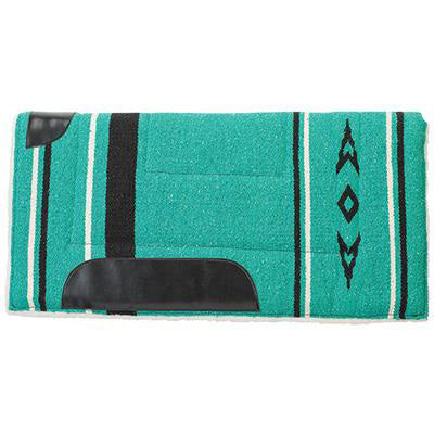 Weaver Leather Emerald Green Fleece Pony Pad