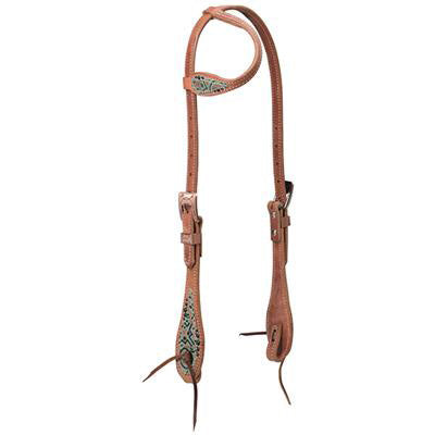 Weaver Leather Cowgirl Spirit Sliding Ear Headstall