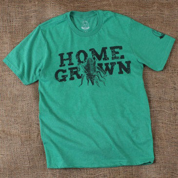 Kid's Green Home Grown Tee