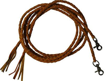 Light Braided Split Reins