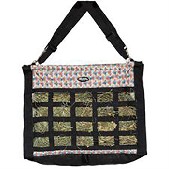 Floral Steer Slow Feed Hay Bag