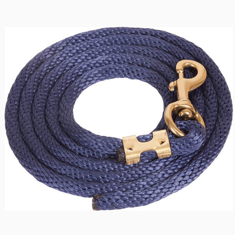 Mustang Navy 9' Poly Lead Rope