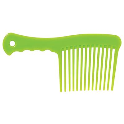 Lime Green Mane and Tail Comb