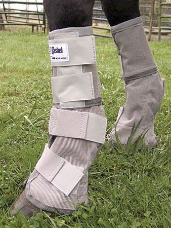 Cashel Arab/Small Horse Grey Fly Boots Set of Two