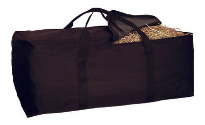 Black Hay Bale Bag
